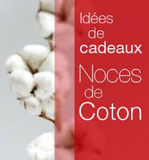Image result for cadeaux noces 2nd Anniversary Cotton, Gift Ideas, Birthday