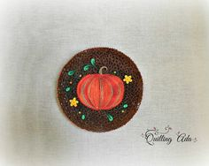 Fall Pumpkin quilled - by: Quilling Ada