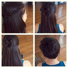 coiffures tressées //Braid styles
