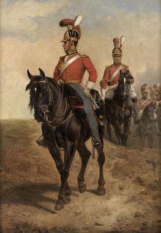 Waterloo 1815, Battle Of Waterloo, Military Art, Military History, Hundred Days, British Uniforms, Napoleonic Wars, Kaiser, Lifeguard