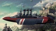 The first of her line of Battleship, The H.M.S Iron Duke, is famous for the assasination of the last Emperor of Cerulean Empire during her launch ceremonary. The Iron Duke was the fastest and best ...