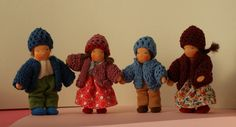 Puppenfamilie RESERVIERT von Farbenmaerchen auf Etsy