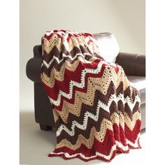 Cabin in the Woods Afghan free pattern