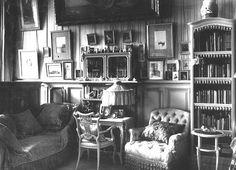 Tsaritsa Alexandra Feodorovna's famous Mauve Room in the Alexander Palace, Tsarskoe Selo.