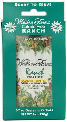 Walden Farms Buttermilk Ranch Dressing Packet, 1 Fl Oz, 6 Ct (Pack of Bernstein Diet, Gourmet Recipes, Healthy Recipes, Healthy Foods, Walden Farms, Specialty Foods, Food Categories, Ranch Dressing, Helping People