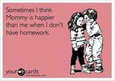 So true! And now for some FREE Summer Reading Rewards Programs for Kids (Agh! Homework never ends!!!)