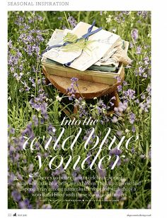 Brent shoots 'Into The Wild Blue Yonder' for Country Living