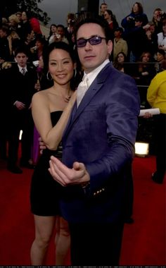 Lucy Liu with 'Ally McBeal' co-star, Robert Downey Jr. at the Annual Screen Actors Guild (SAG) Awards Show. Ally Mcbeal, Lucy Liu, Sag Awards, Downey Junior, Stunningly Beautiful, Robert Downey Jr, Pretty Face, American Actress, Eye Candy