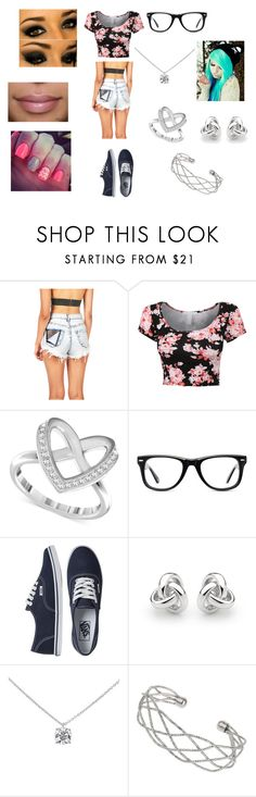 """""""Untitled #42"""" by kayla-faber ❤ liked on Polyvore featuring Swarovski, Muse, Vans, Georgini, Tiffany & Co. and Wallis"""