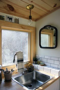 Natalie's Peaceful & Free-Spirited Tiny Home on Wheels