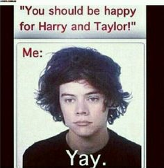 Yay. Hahahahahahaha. But really that is my happy face for Haylor