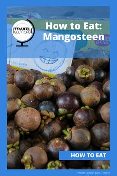 Here comes the Queen of Fruit: the mangosteen! When it's raw, the skin color is green and when ripe it turns into red to dark purple. The taste is sweet and fresh, with a slight sourness. Let us share with you some tips on how to eat mangosteen.