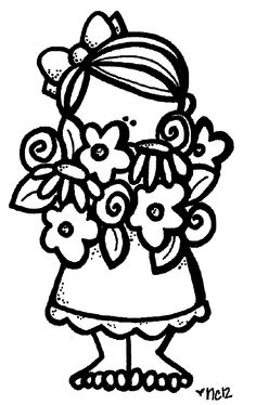 coloring page of girl Colouring Pages, Adult Coloring Pages, Coloring Sheets, Coloring Books, Colorful Pictures, Cute Pictures, Cute Clipart, Digi Stamps, Coloring Pages For Kids