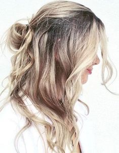 Simple Half Up Bun Hairstyles 2018 for this Spring Season