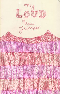 Blog: My Really Loud Sweater Collection - Doodlers Anonymous by Emma Block