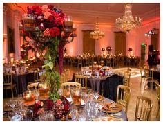 Nixon Library Wedding Interior - Classic Wedding Style - Fall Wedding
