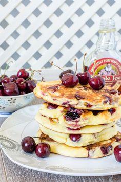 Pancakes cu cirese si rom - Din secretele bucătăriei chinezești