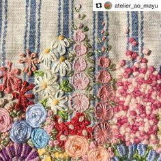 @atelier_ao_mayu #needlework #handembroidery #ricamo #bordado #embroidery #broderie