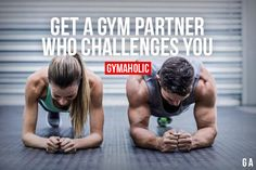 My fiancé challenges me in our gym