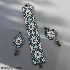 off loom beading techniques Loom Bracelet Patterns, Bead Loom Bracelets, Seed Bead Patterns, Jewelry Patterns, Beading Patterns, Beading Ideas, Beading Supplies, Bead Jewellery, Beaded Jewelry