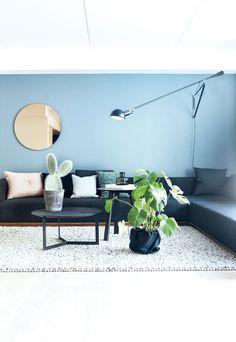 Lun og hyggelig sofakrok