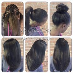 Check out this Versatile Sew-In Hair Weave that I created for my client! ***Call or text Natalie B. to schedule your appointment! IG: FB: Hair by Natalie B. Sew In Hairstyles, Pretty Hairstyles, Straight Hairstyles, Long Weave Hairstyles, Latest Hairstyles, Curly Hair Styles, Natural Hair Styles, Natural Hair Sew In, Natural Weave
