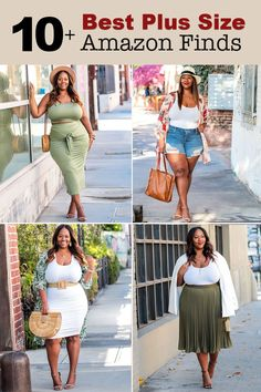 Here's my roundup of some of the best plus size Amazon finds you need in your wardrobe! Plus Size Kimono, Plus Size Women's Tops, Plus Size Girls, Plus Size Maxi Dresses, Plus Size Outfits, Plus Size Summer Outfit, Trendy Plus Size, Curvy Girl Outfits, Summer Fashion Outfits