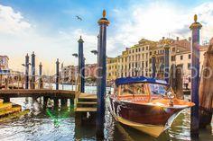 Boot in Venedig - meinLieblingsbild.com