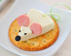 Recetas Divertidas - Ratoncitos de Queso / Fun Kid Recipes - Cheese Mice - MamásLatinas