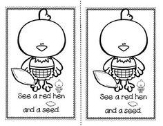 Fairy Tale Activities, Rhyming Activities, Nursery Rhymes Preschool, Free Preschool, Kindergarten Freebies, Pre Kindergarten, Little Red Hen Activities, Nursery Rhythm, Animales