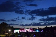 Architectural Projections at Enlighten l Lighting festival Canberra, Australia