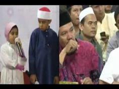 Hafiz Quran Terkecil di Dunia Bersama Yusuf Mansur bagaimana Penampilan Hafiz Terkecil di dunia yang diundang untuk datang ke indonesia