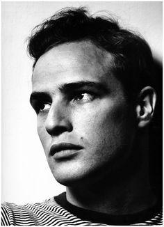 Marlon Brando (1924-2004) - American actor. Photo © Philippe Halsman, 1950