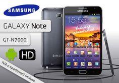 Uno smartphone che offre un'esperienza d'uso davvero appagante e unica: Samsung Galaxy Note GT-N7000 blue a € 429,00 invece di € 699,00