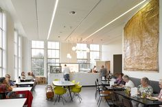 Café Onderwijsmuseum Dordrecht - Bierman Henket interieur