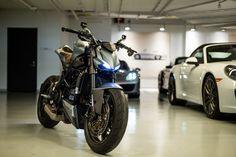 Ducati Streetfighter by Arete Americana. A carbon fiber piece of art.