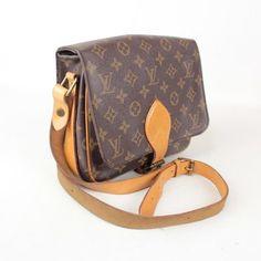 Louis Vuitton Cartouchiere Handbag Monogram Cross Body Bag $480