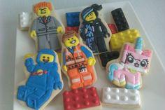 Lego movie cookies