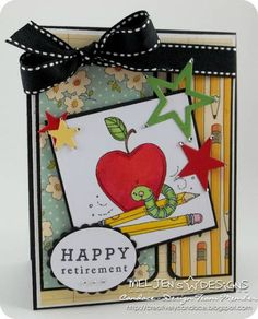 SC385 - Happy Retirement by candylou - Cards and Paper Crafts at Splitcoaststampers