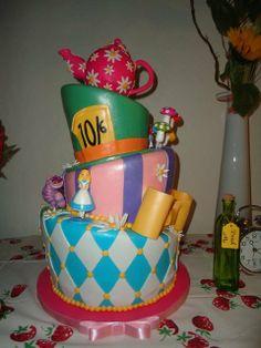 Alice in Wonderland Cake #aliceinwonderland #cake