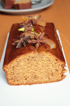 Extra feuchtes Gewürzbrot (Michalak Rezept) – Olivia Patisse – Gâteaux/cakes/tartes/clafoutis/flans/cheesecakes/entremets …etc… - Salat Desserts With Biscuits, No Cook Desserts, Best Dessert Recipes, Raw Food Recipes, Sweet Recipes, Cookie Recipes, Love Eat, Food Humor, Food Cakes
