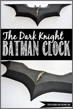 DIY Batman Clock
