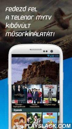 Telenor MyTV  Android App - playslack.com ,  Megújult TV csatorna kínálatunk! INGYENES, korlátlan ADATHASZNÁLAT 2016. január 31-ig!A szolgáltatás csak belföldön használható.TV CSOMAGJAINK:Közszolgálati csomag: M4 Sport HD, M1, M2, Duna, Duna WorldAlapcsomag: AMC, Nickelodeon, Film+, RTL Klub, TV2, M4 Sport HD, Cool, Story4, Minimax...Családi csomag: Sport1, Viasat3, Travel Channel, Fine Living, Paprika TV, Spektrum, Film, BBC Earth...Tévétár: 15 TV csatorna visszanézhető műsoraiVIDEÓTÉKÁS…