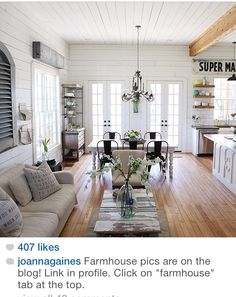 JoAnna  Chip Gaines are amazing!  Their show Fixer Upper is a must see.  My husband used to cringe every time I grabbed the remote and turned it to HGTV.  Now, he can't wait until the next episode of Fixer Upper is on.  I love that we can watch it together.  Chip  Joanna are hilarious and remind us so much of ourselves.  They are doing what we have always wanted to do.  They are an inspiration in the work they do.