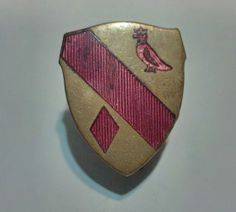 19th Artillery WWII DI Crest Robbins Co Attleboro by Groovinonup, $29.00