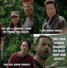the walking dead eugene meme - Google Search