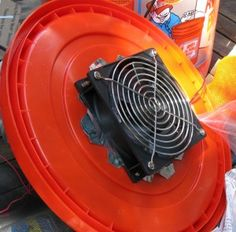 """Trying My Hand at the Homemade Air Conditioner DIY – The """"5 Gallon Bucket"""" Air Cooler 