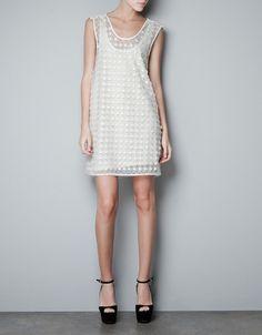 LACE DRESS - Dresses - Woman - ZARA United States