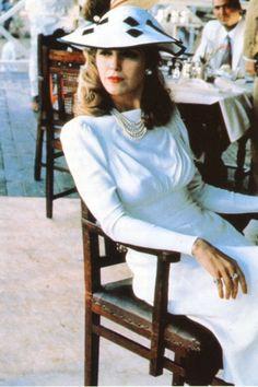 Greta Scacchi in white mischief