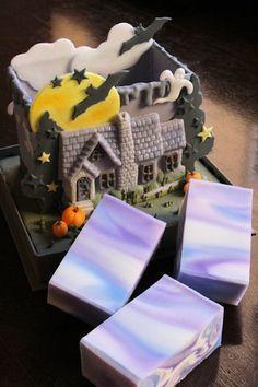 Halloween soap | How to make Niigata handmade soap Classroom Aromatherapy 's easy time